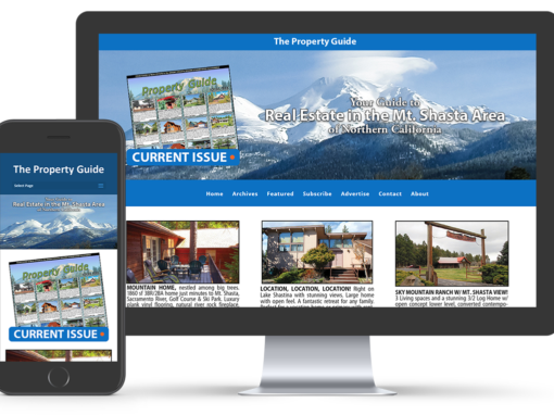 Mount Shasta Property Guide Website